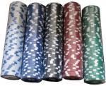 Чипове за покер 50 броя от 1 цвят
