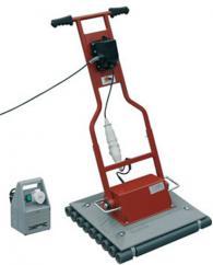 Машини за полагане на плочки в бетоново легло