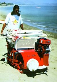 Машини за почистване на плажове