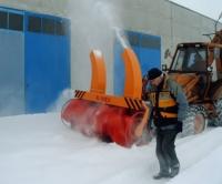 Машина за почистване на сняг