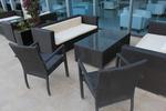 Маси и столове ратан за голямо кафенета