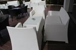 Красиви маси и столове ратан за кафене