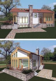 Модерни сглобяеми къщи 105 м2