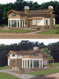 Проектиране на едноетажни къщи 107 м2