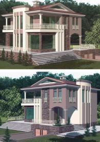 Луксозна двуетажна къща 191 м2