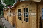 сглобяема дървена къща до 6кв.м