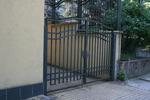 входна дворна метална врата