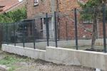 ограда от метални пана