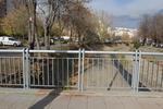 метален парапет за мост по поръчка