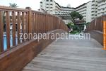 производство на дървени парапети за мостове