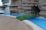 иноксови мостове за басейни