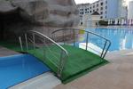 изработка на иноксови мостове над басейни по поръчка