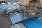 иноксови мостове за басейни по поръчка