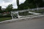 парапет от ковано желязо за мост