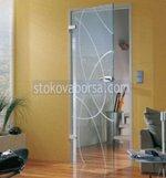 стаклена врата са једним крилом, производња