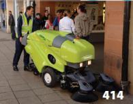 Професионална машина за метене - Серия 414
