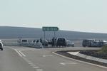 Полагане по поръчка на хоризонтална пътна маркировка