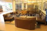 лоби бар - обзавеждане с мека мебел