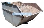 Контейнер от метал за промишлени отпадъци