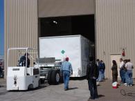 Преместване на големи контейнери