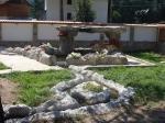 интериор за къщи с изкуствени скали и камъни