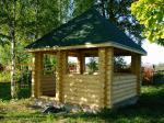 Проектиране на дървени градински беседки