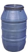 Пластмасови бидони Вместимост 207 Л