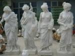 Статуи на жени от полимербетон - поръчкова изработка