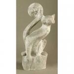 Статуя  от полимербетон - композиция с животни