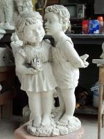 Статуя  от полимербетон - композиция с хора по индивидуален проект