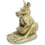 Статуи с митични животни от полимербетон