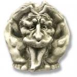Статуя от полимер бетон за ъгъл на сграда с изобразено митично животно