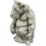 Статуи на митични животни по клиентска заявка от полимербетон