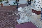 Статуя на лъв по поръчка от полимербетон