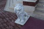 Индивидуален проект за статуя на лъв