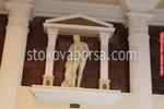 Поръчкова статуя на мъж от полимербетон