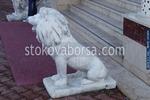 Поръчкови статуи на лъвове от полимербетон