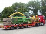 Професионално превозване на товари с извънгабаритен размер