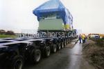 Professionellen Transport von übergroßen Ladung Größe