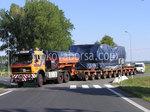 Transport von übergroßen Ladungen