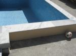 Поставяне на облицовки за басейни от мрамор