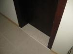 врата с праг от материал мрамор