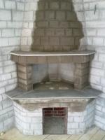 Камина от тухла с избор на форма и размер