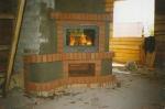 Изпълнение на нестандартни проекти за поръчкови камини от тухла