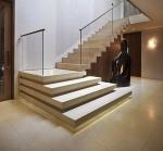 Изработка на стълби, облицовани с варовик