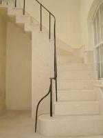 Проекти за стълби с облицовка от варовик
