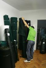 Защитна мрежа за борба с градушки за оранжерии