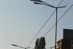 Стълбове от метал за улично осветление