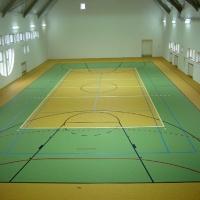 Зелена линолеум Linodur Sport