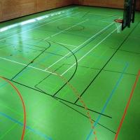 Linodur Sport зелена линолеум настилки